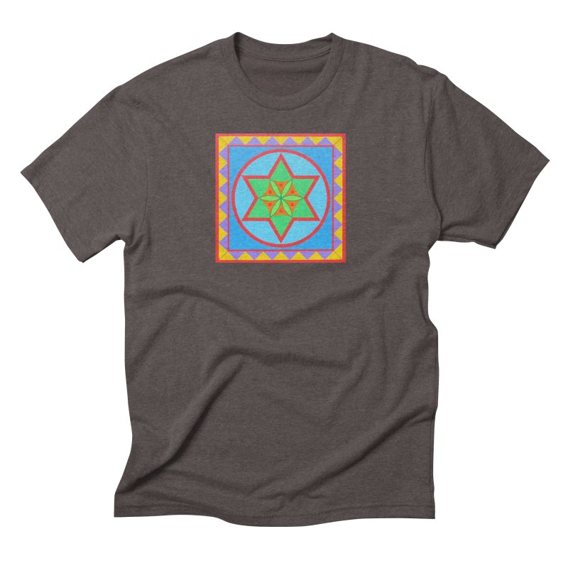 Emerging Flower Men's Triblend T-Shirt by By the Ash Tree