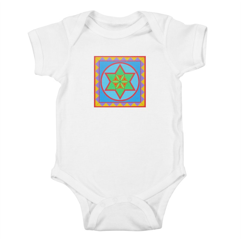 Emerging Flower Kids Baby Bodysuit by By the Ash Tree