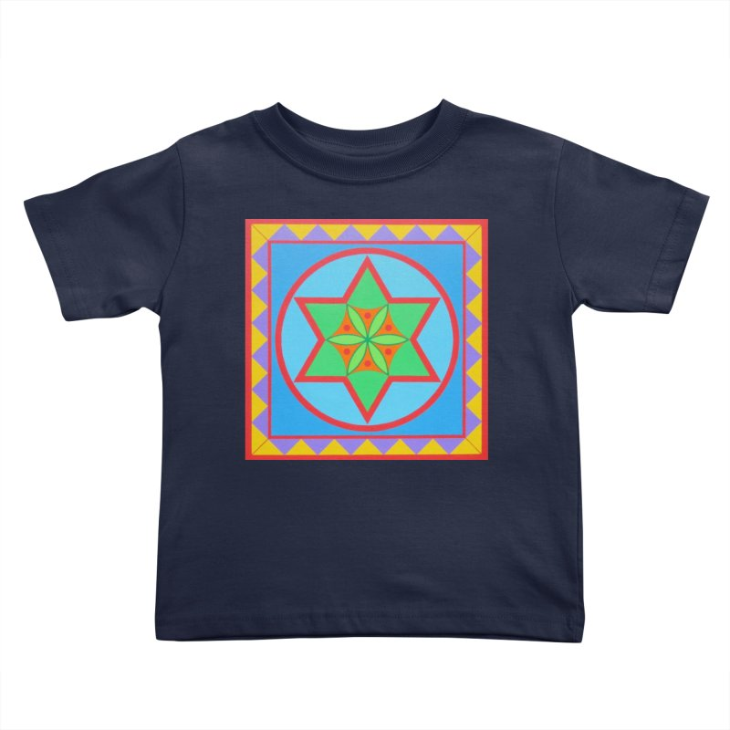 Emerging Flower Kids Toddler T-Shirt by By the Ash Tree