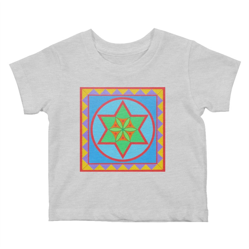 Emerging Flower Kids Baby T-Shirt by By the Ash Tree