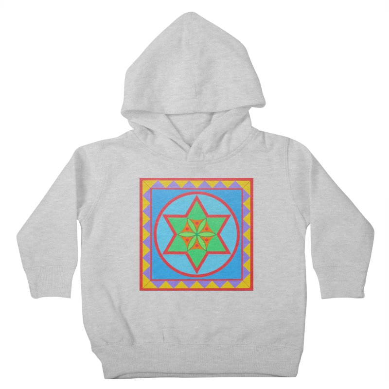 Emerging Flower Kids Toddler Pullover Hoody by By the Ash Tree
