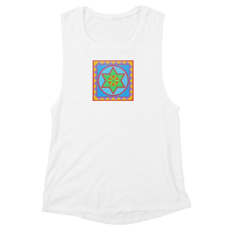 Emerging Flower Women's Muscle Tank by By the Ash Tree