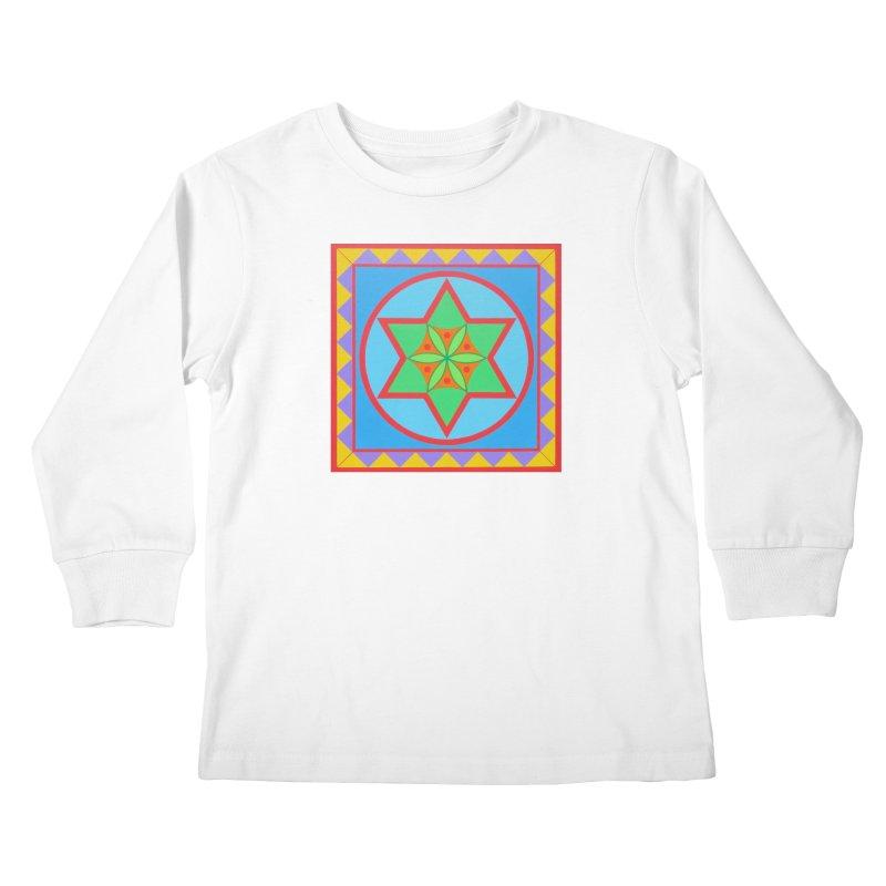 Emerging Flower Kids Longsleeve T-Shirt by By the Ash Tree