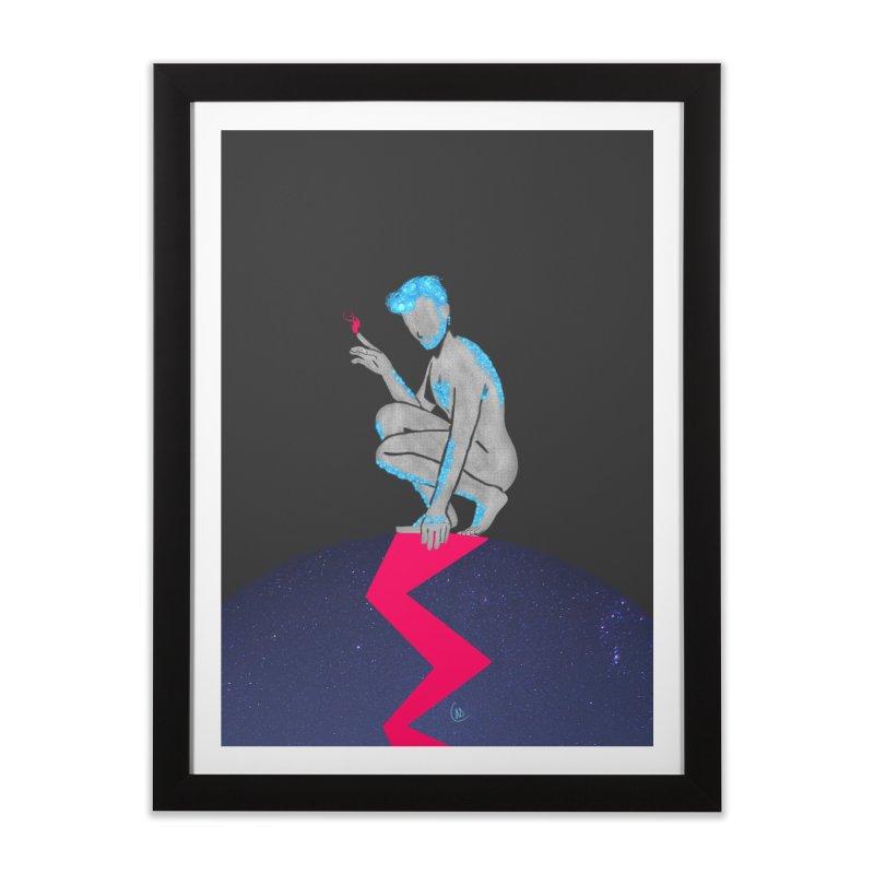 Touch Home Framed Fine Art Print by ashleysladeart's Artist Shop