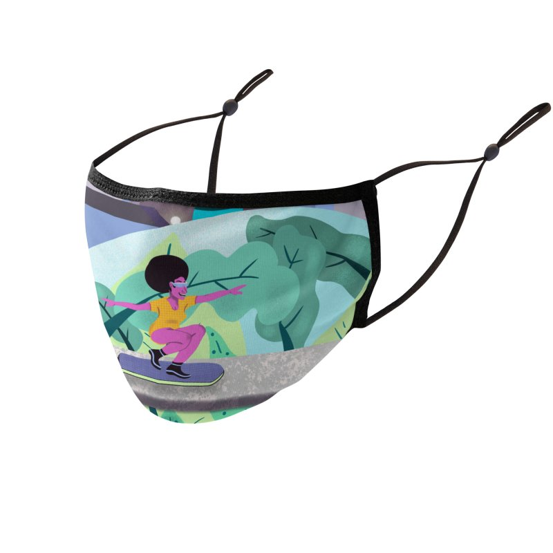 Hovergirl Accessories Face Mask by ashleysladeart's Artist Shop