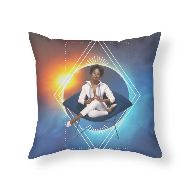 Retreat Home Throw Pillow by ashleysladeart's Artist Shop