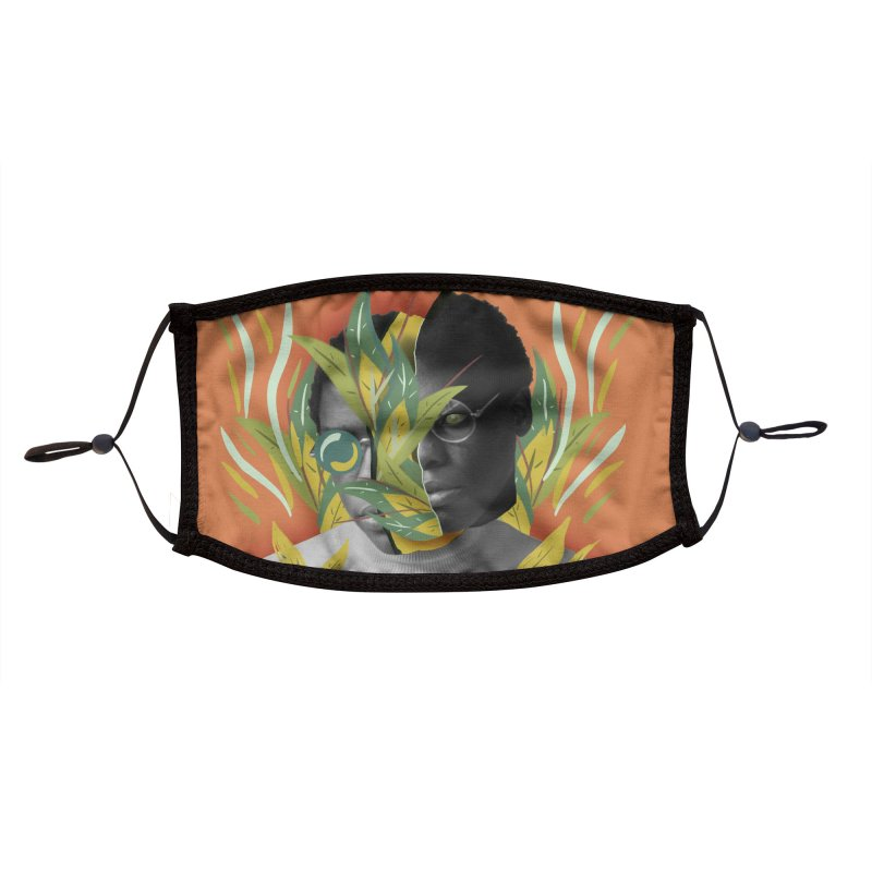 New Growth Accessories Face Mask by ashleysladeart's Artist Shop