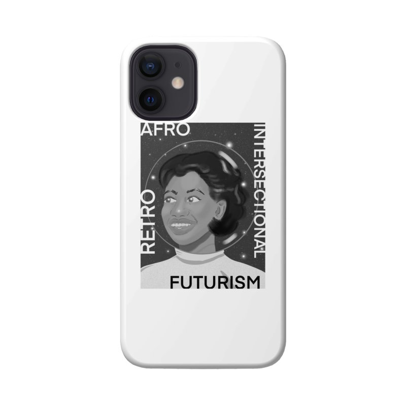 Afro Retro Intersectional Futurism Accessories Phone Case by ashleysladeart's Artist Shop