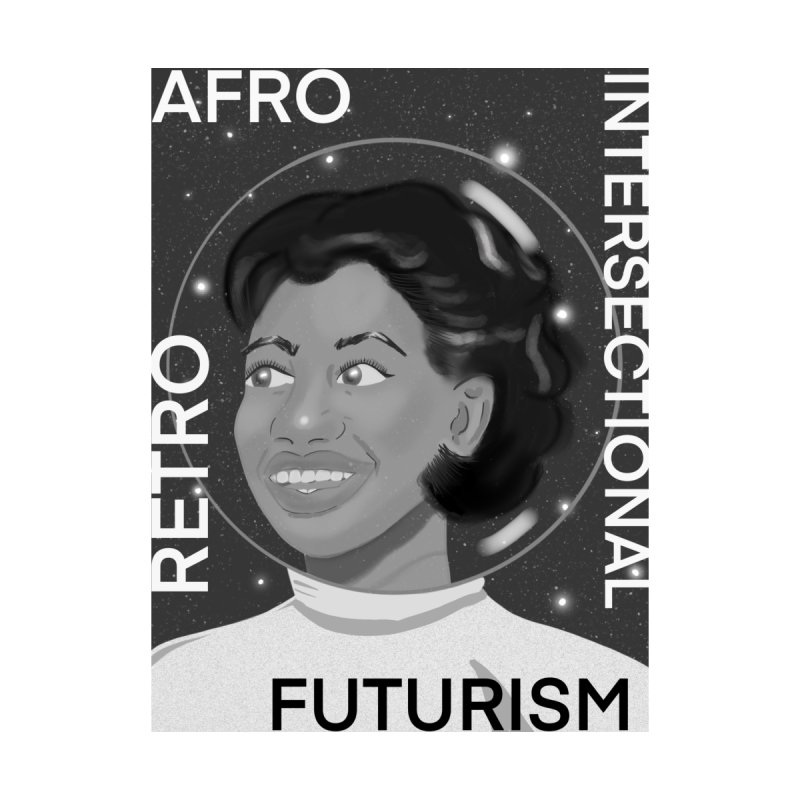 Afro Retro Intersectional Futurism Women's Zip-Up Hoody by ashleysladeart's Artist Shop