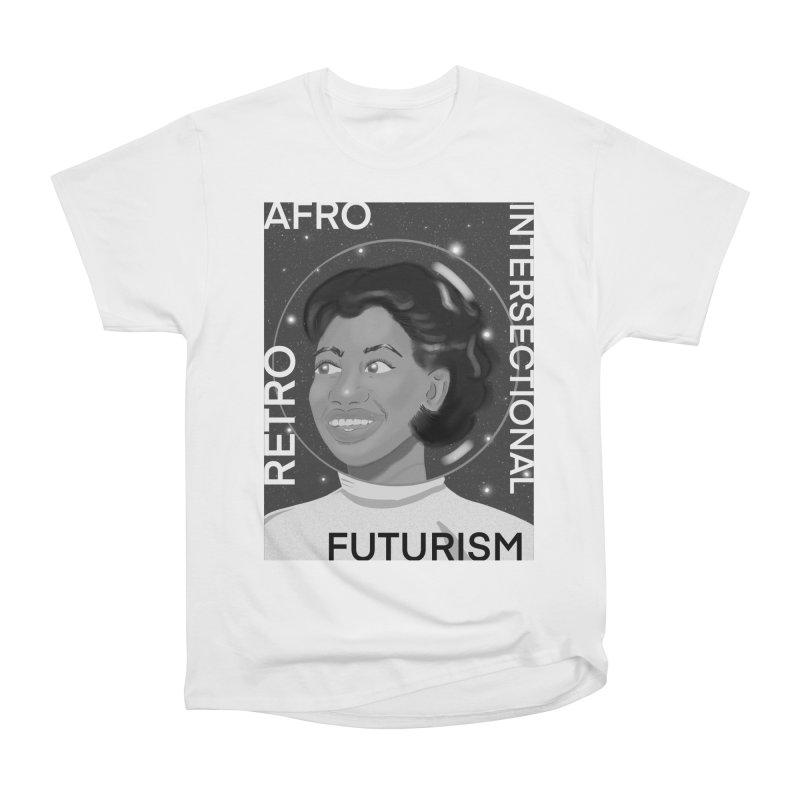 Afro Retro Intersectional Futurism Women's T-Shirt by ashleysladeart's Artist Shop