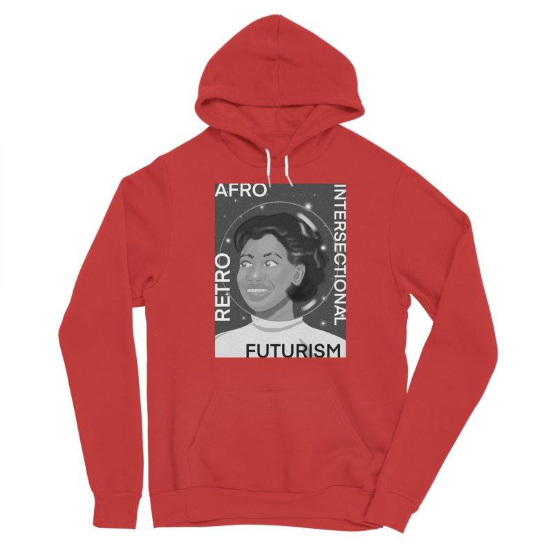 Afro Retro Intersectional Futurism Women's Pullover Hoody by ashleysladeart's Artist Shop