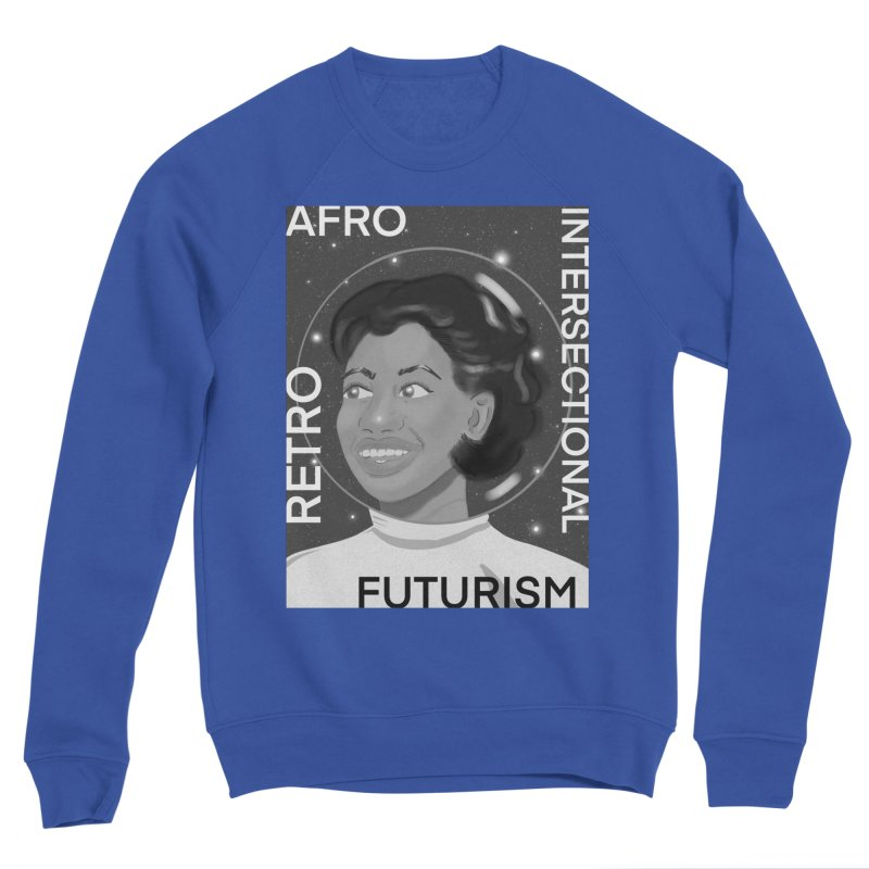 Afro Retro Intersectional Futurism Men's Sweatshirt by ashleysladeart's Artist Shop
