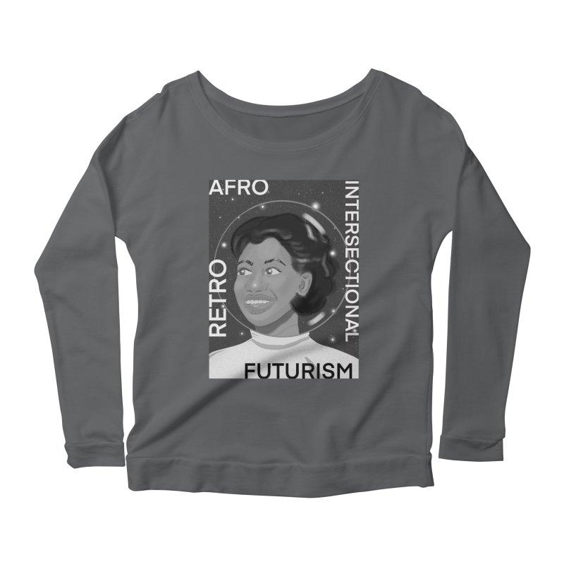 Afro Retro Intersectional Futurism Women's Longsleeve T-Shirt by ashleysladeart's Artist Shop