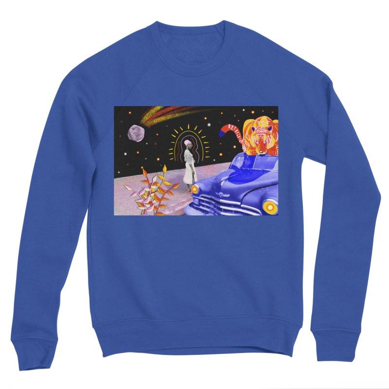 Neighborhood Walk Men's Sweatshirt by ashleysladeart's Artist Shop