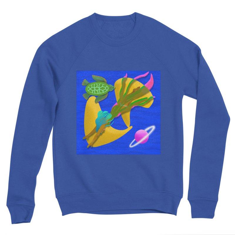 Warrior Two Men's Sweatshirt by ashleysladeart's Artist Shop