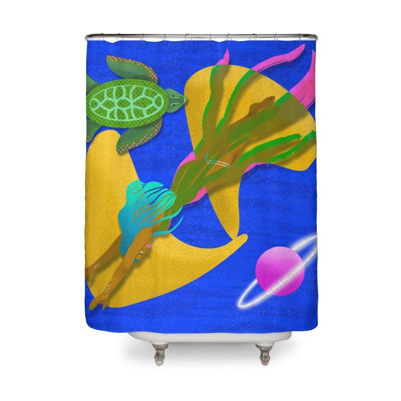 Warrior Two Home Shower Curtain by ashleysladeart's Artist Shop