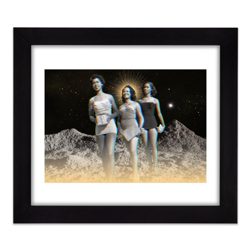 We Three Queens Home Framed Fine Art Print by ashleysladeart's Artist Shop