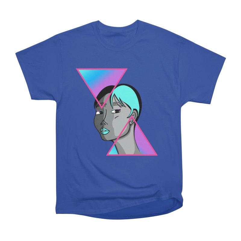 Lady Neon Women's Heavyweight Unisex T-Shirt by ashleysladeart's Artist Shop