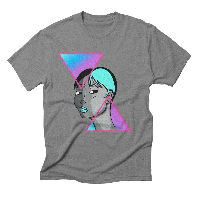Lady Neon Men's Triblend T-Shirt by ashleysladeart's Artist Shop