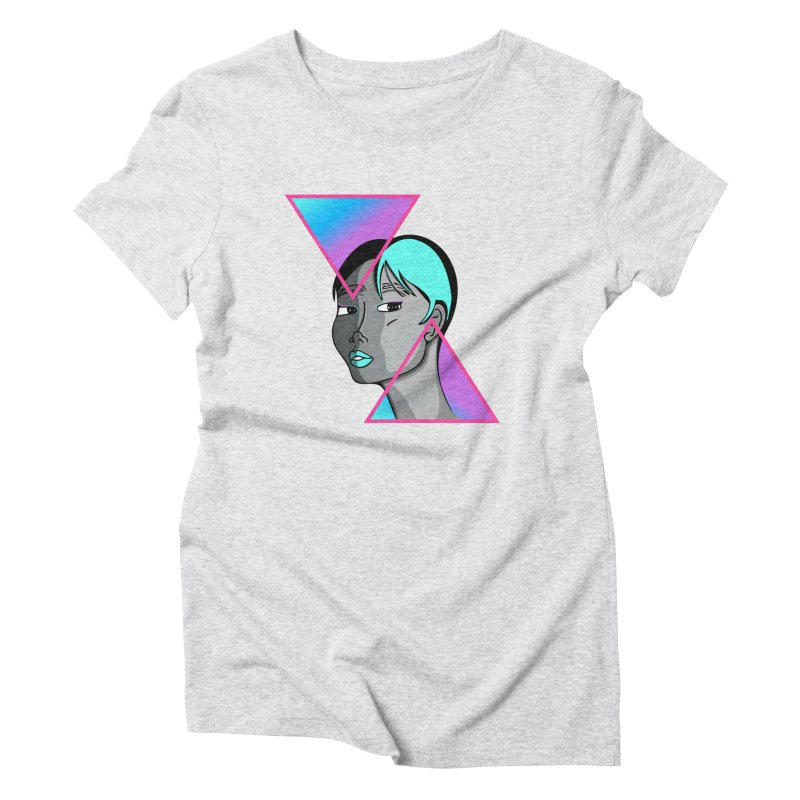 Lady Neon Women's Triblend T-Shirt by ashleysladeart's Artist Shop