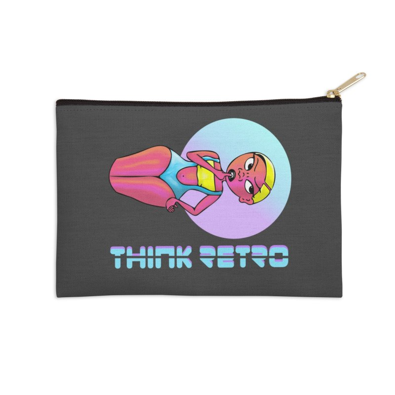 Think Retro Accessories Zip Pouch by ashleysladeart's Artist Shop