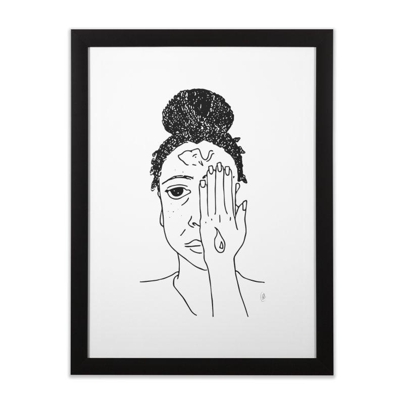 Thoughts Home Framed Fine Art Print by ashleysladeart's Artist Shop