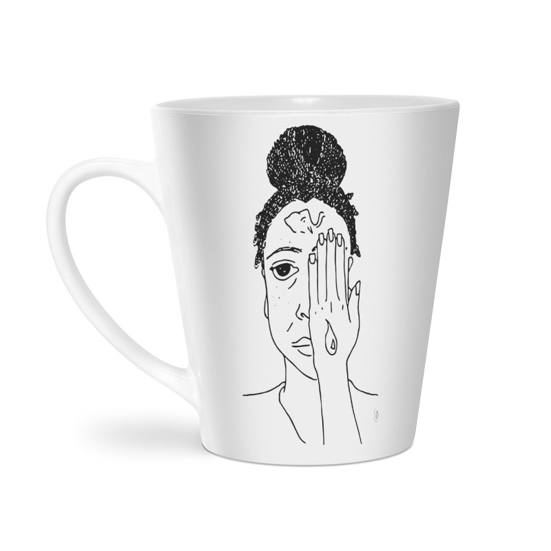 Thoughts Accessories Latte Mug by ashleysladeart's Artist Shop