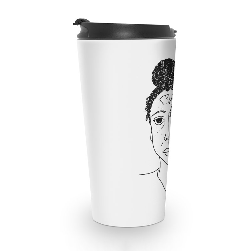 Thoughts Accessories Travel Mug by ashleysladeart's Artist Shop