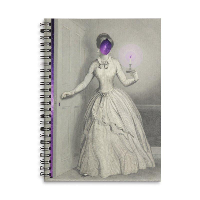 Beyond Accessories Lined Spiral Notebook by ashleysladeart's Artist Shop