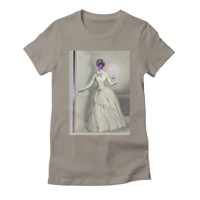 Beyond Women's Fitted T-Shirt by ashleysladeart's Artist Shop