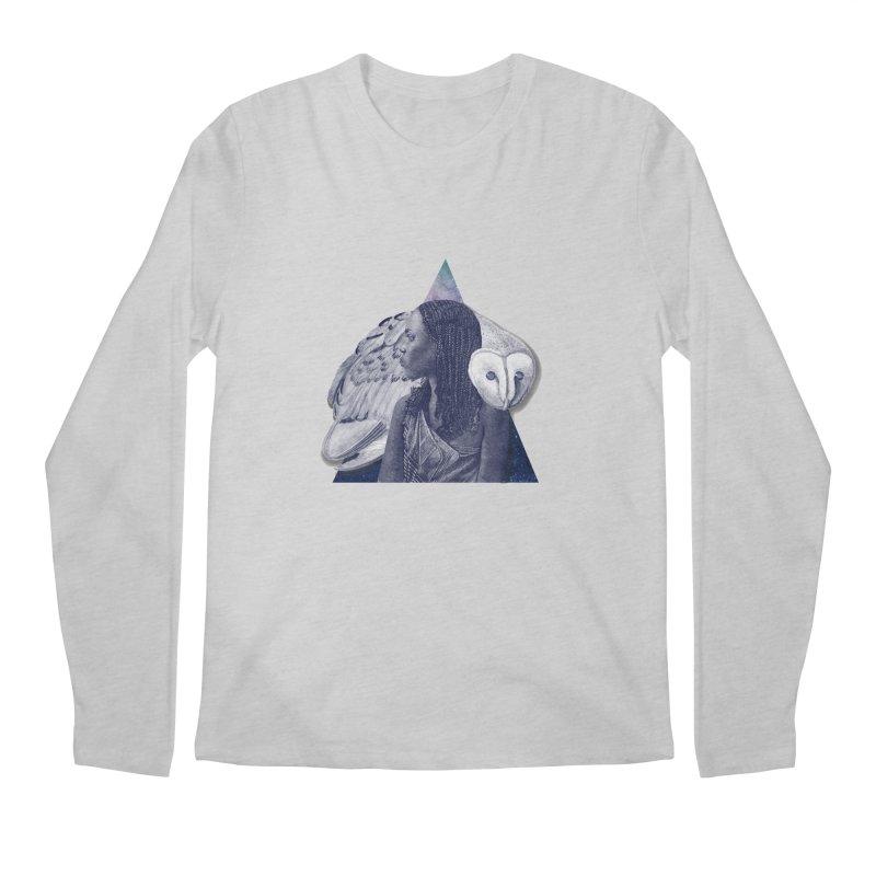 Wisdom Men's Regular Longsleeve T-Shirt by ashleysladeart's Artist Shop