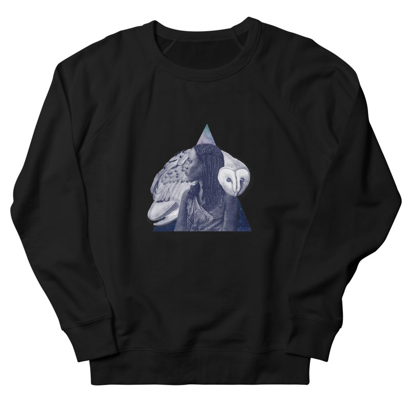 Wisdom Women's French Terry Sweatshirt by ashleysladeart's Artist Shop