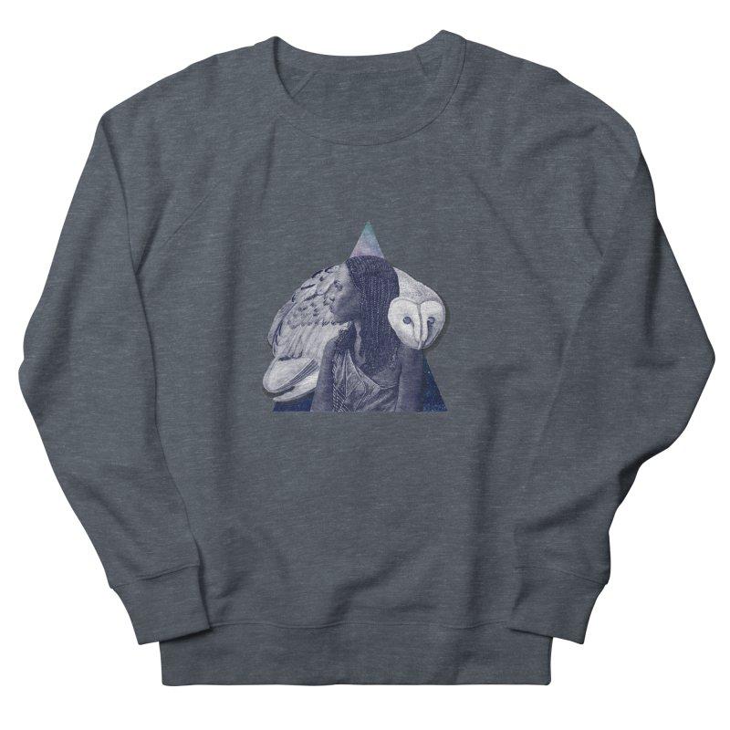 Wisdom Men's French Terry Sweatshirt by ashleysladeart's Artist Shop
