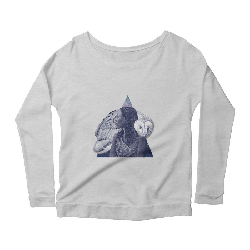 Wisdom Women's Scoop Neck Longsleeve T-Shirt by ashleysladeart's Artist Shop