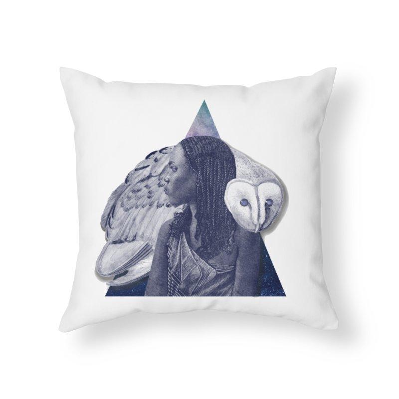 Wisdom Home Throw Pillow by ashleysladeart's Artist Shop