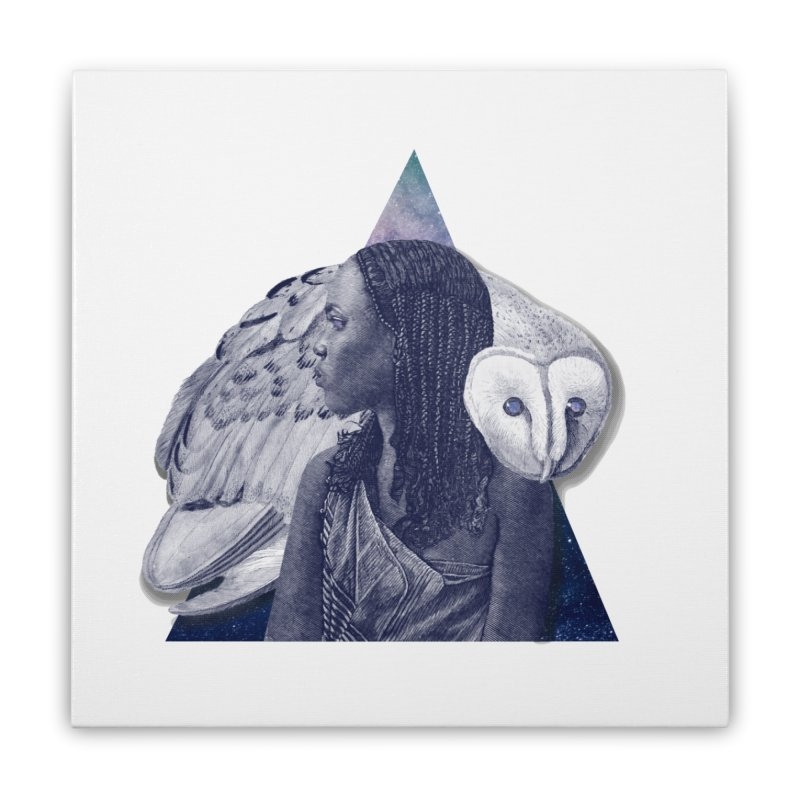 Wisdom Home Stretched Canvas by ashleysladeart's Artist Shop