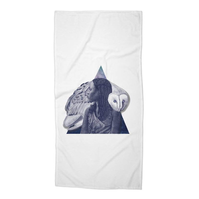 Wisdom Accessories Beach Towel by ashleysladeart's Artist Shop