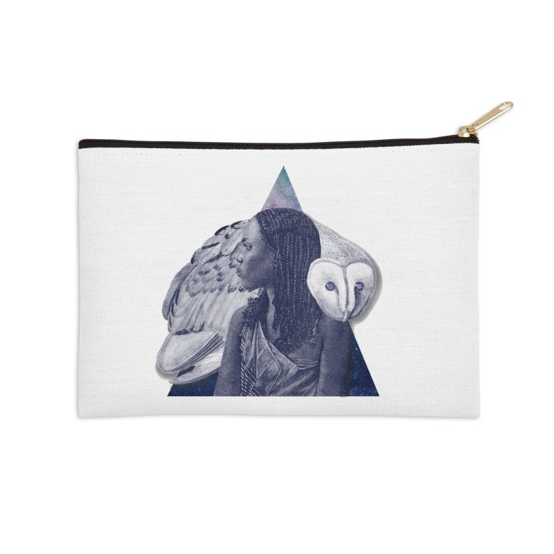 Wisdom Accessories Zip Pouch by ashleysladeart's Artist Shop