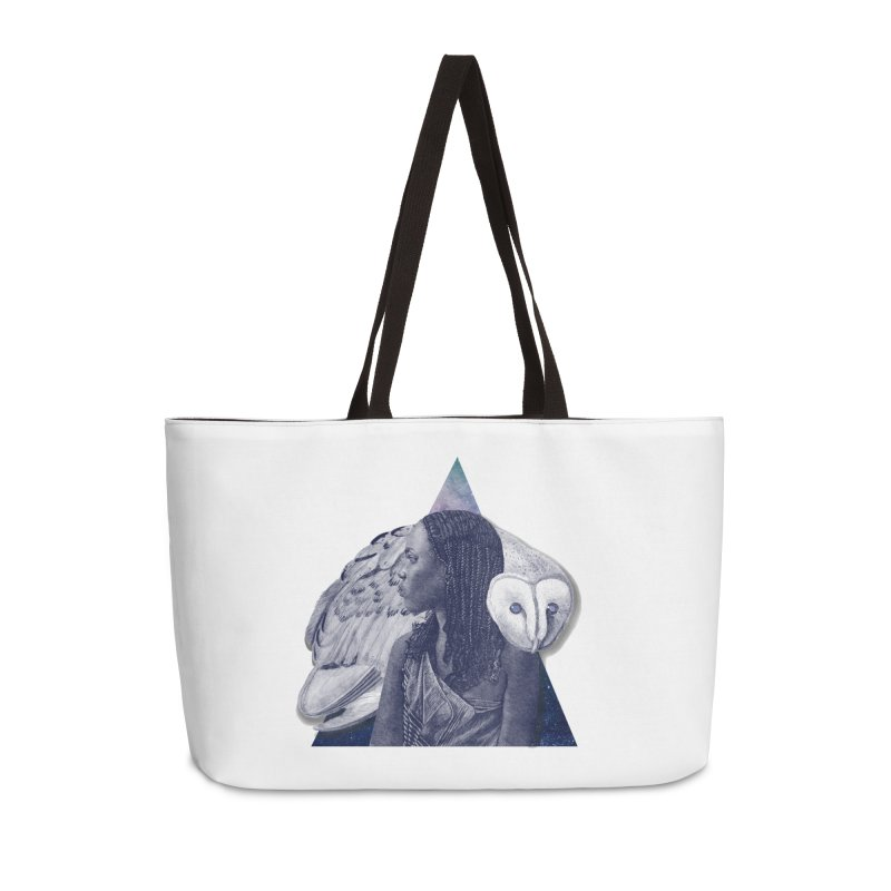 Wisdom Accessories Weekender Bag Bag by ashleysladeart's Artist Shop
