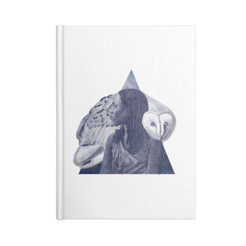 Wisdom Accessories Lined Journal Notebook by ashleysladeart's Artist Shop