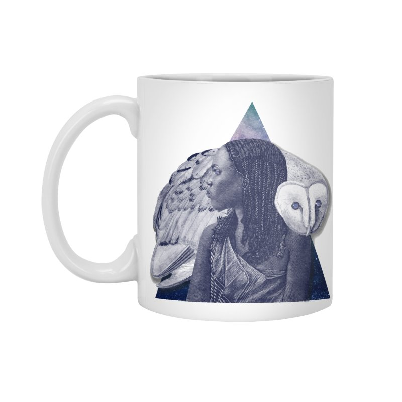 Wisdom Accessories Standard Mug by ashleysladeart's Artist Shop