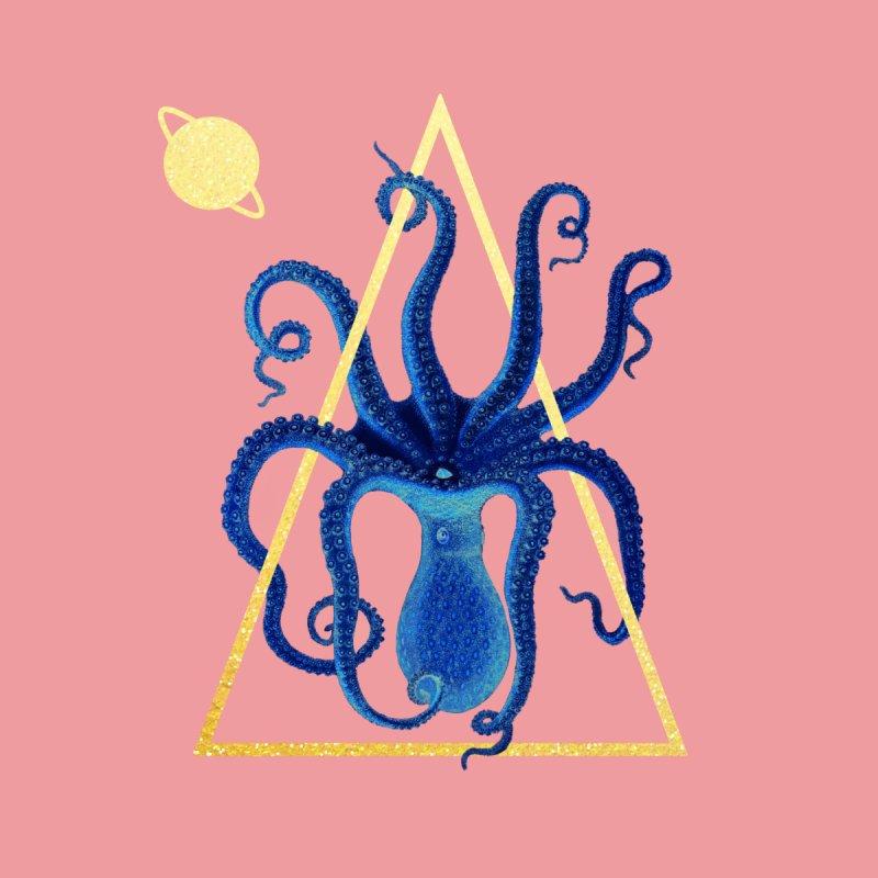Celestial Cephalopod Home Rug by ashleysladeart's Artist Shop