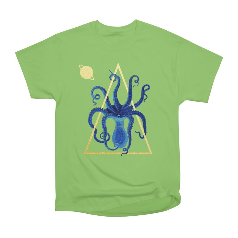 Celestial Cephalopod Women's Heavyweight Unisex T-Shirt by ashleysladeart's Artist Shop