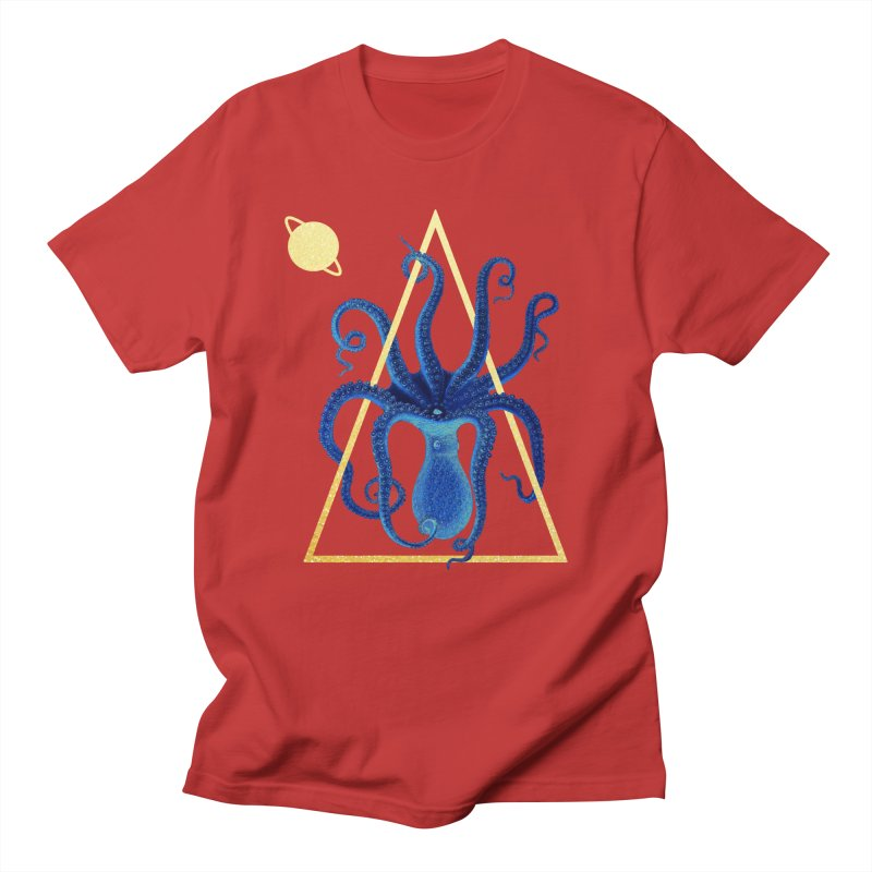 Celestial Cephalopod Men's T-Shirt by ashleysladeart's Artist Shop