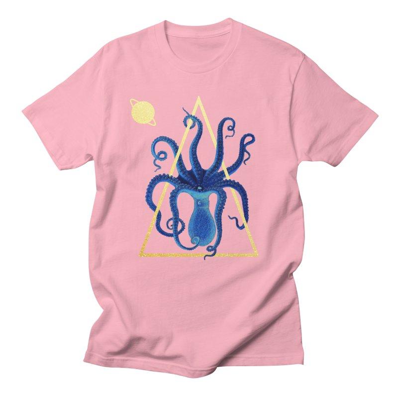 Celestial Cephalopod Women's Regular Unisex T-Shirt by ashleysladeart's Artist Shop