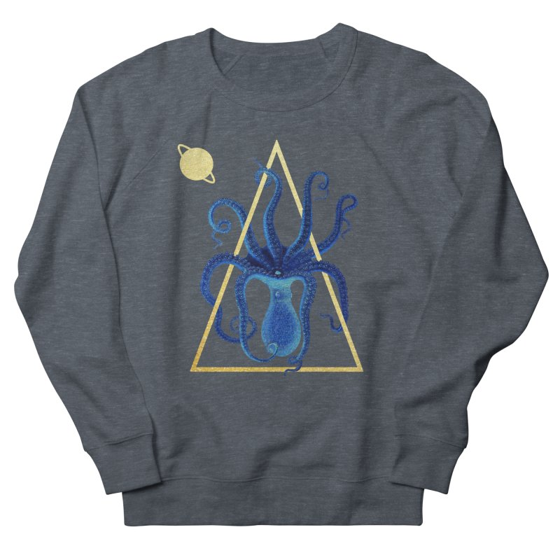Celestial Cephalopod Women's French Terry Sweatshirt by ashleysladeart's Artist Shop