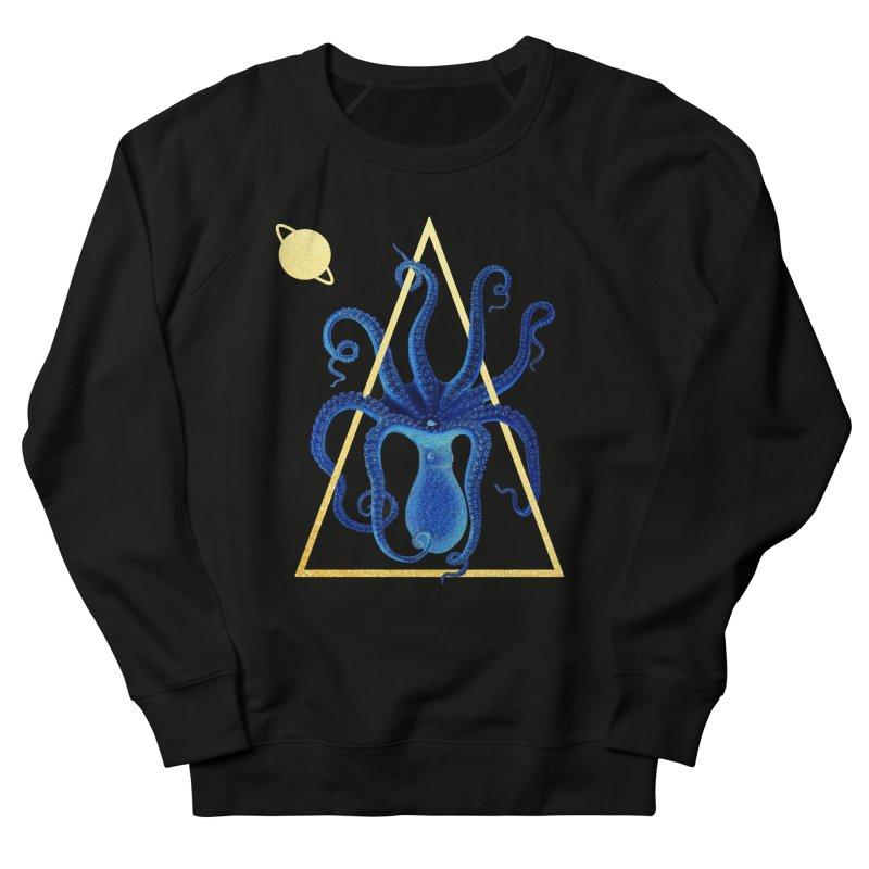 Celestial Cephalopod Men's French Terry Sweatshirt by ashleysladeart's Artist Shop