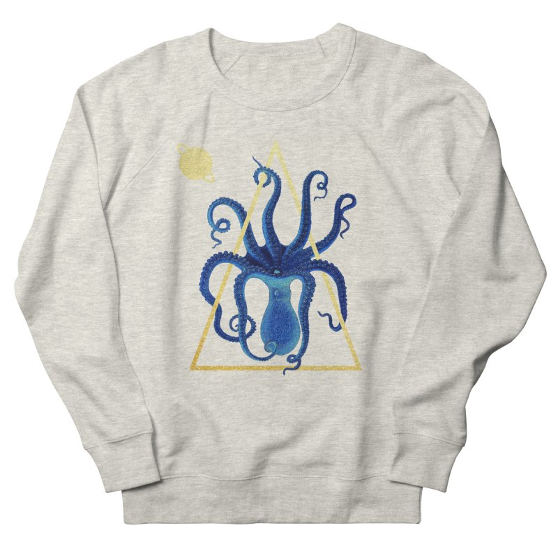 Celestial Cephalopod Men's French Terry Sweatshirt by ashleysladeart's Artist Shop