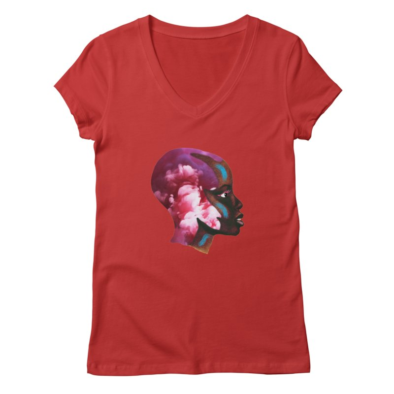Day Dreamer Women's Regular V-Neck by ashleysladeart's Artist Shop