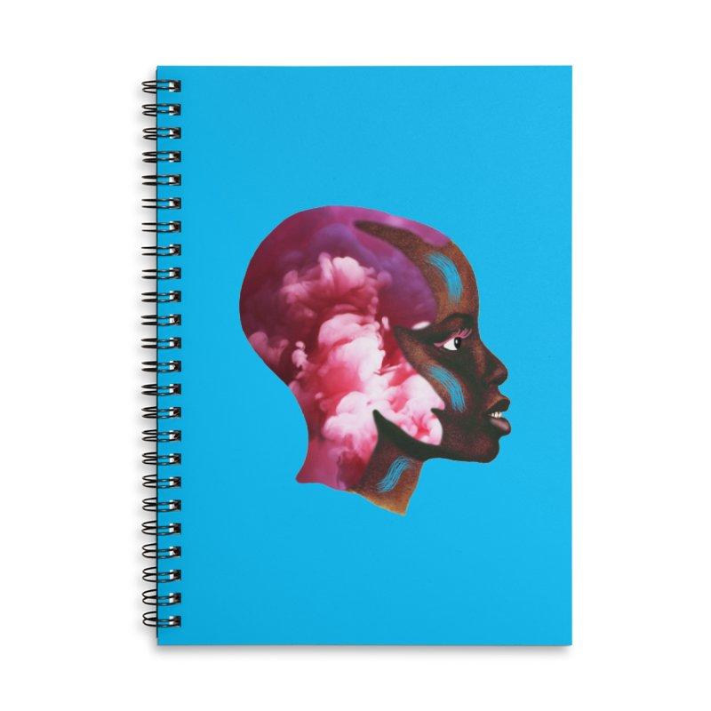Day Dreamer Accessories Lined Spiral Notebook by ashleysladeart's Artist Shop